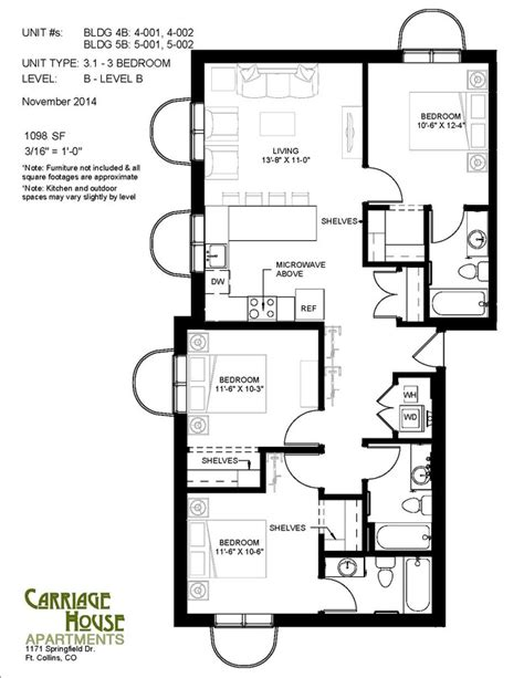 carriage house floor plans carriage house apartments rentals fort collins co