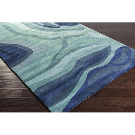 boutique rugs pigments area rug blue modern rugs tufted style pgm3003 and boutique