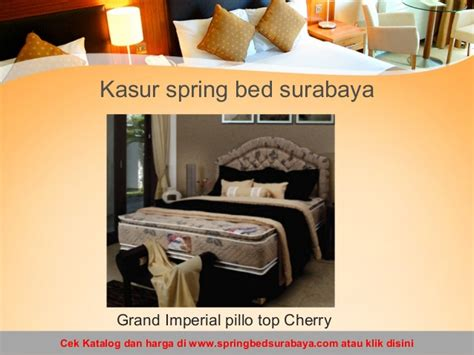 Kasur Bed American Pillo toko bed