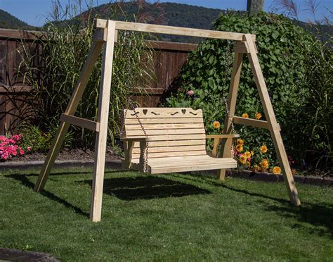 pine swing sets 4 x 4 post treated pine swing stand