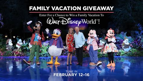 About Com Sweepstakes One Entry - wheel of fortune disney world family vacation sweepstakes 2018 winzily