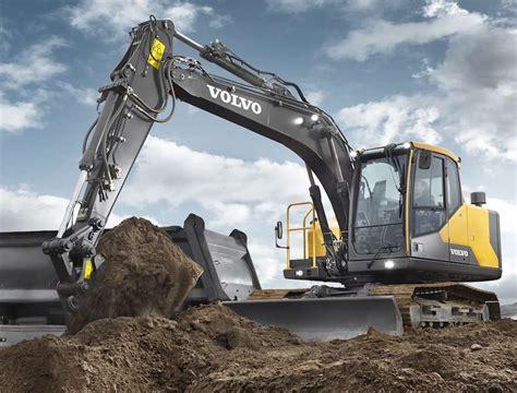volvo ce unveils ece excavator  improved cab  precise control