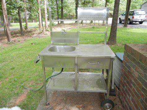 outdoor kitchen sinks ideas best outdoor kitchen sink drain idea bistrodre porch and