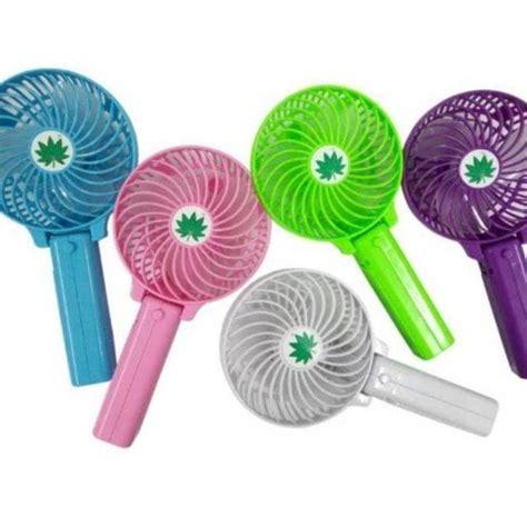 Kipas Genggam kipas genggam kipas angin portable kipas lipat mini fan gqc shopee indonesia