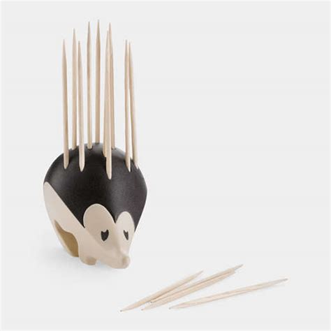 tooth pick holders hegdehog kitchen accessories kipik toothpick holder