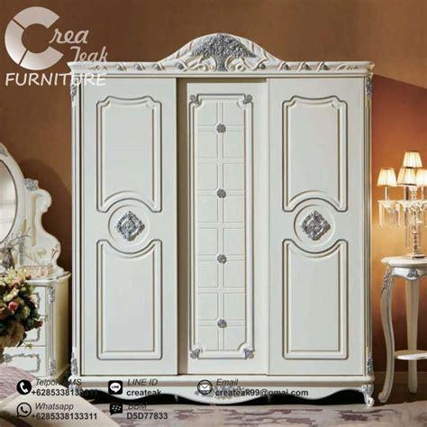 Model2 Baju Tidur lemari baju klasik henna 3 pintu createak furniture