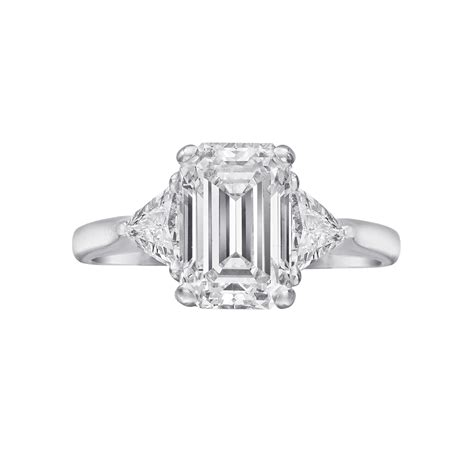 estate betteridge collection 2 21 carat emerald cut