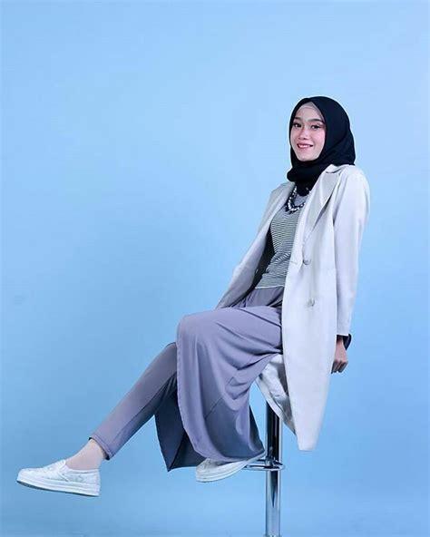 Trend Busana Wanita Saat Ini Trend Pakaian Casual Wanita 2017 20 trend model baju muslim lebaran 2018 casual simple dan modern