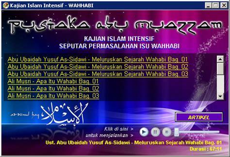 Meluruskan Sejarah Wahhabi Abu Ubaidah As Sidawi pustaka abu muazzam kajian islam seputar isu wahhabi