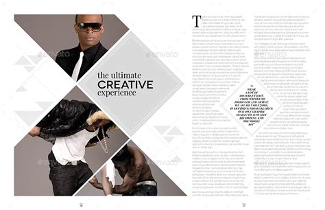 5 creative magazine layouts magazine layouts carbon magazine template bundle indesign layout v5 by