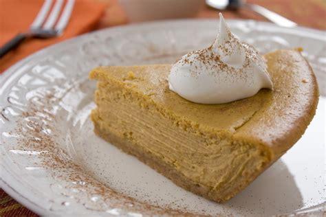Handmade Desserts - easy pumpkin cheesecake mrfood
