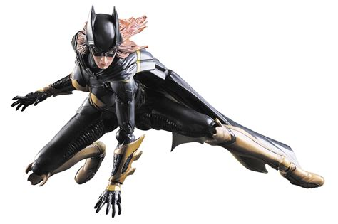 Ngpa68 Play Arts Batgirl Arkham Batman Dc Comics may162767 batman arkham play arts batgirl