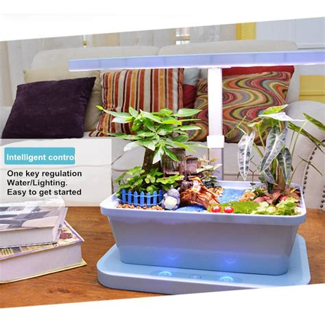 smart indoor herb garden kit hydro plant growing