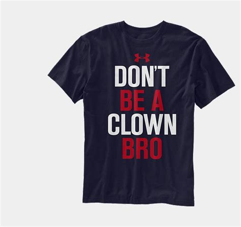 tshirt dont be a clown bro search results for bryce hair style black
