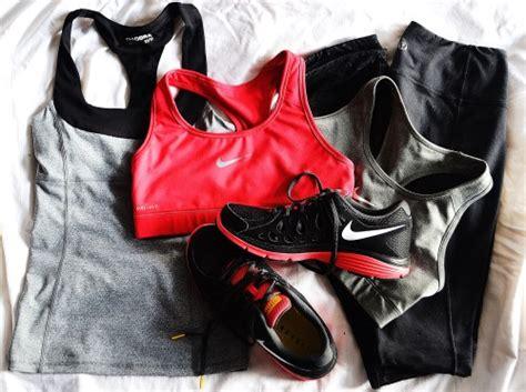 fitspo black pink nike original running
