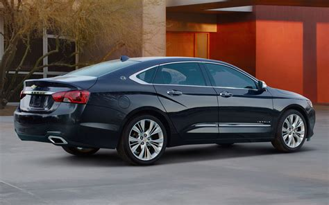 2014 chevrolet impala rear three quarter passenger side