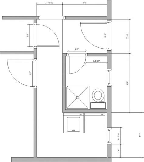 Shower Stall Ideas For A Small Bathroom need help with awkward laundry room bathroom floor plan