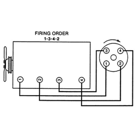 1342 firing order diagram i a 1997 geo tracker i m not sure if the motor has