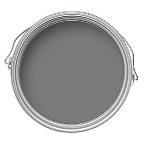 dulux travels in colour monument grey matt emulsion paint 2 5l