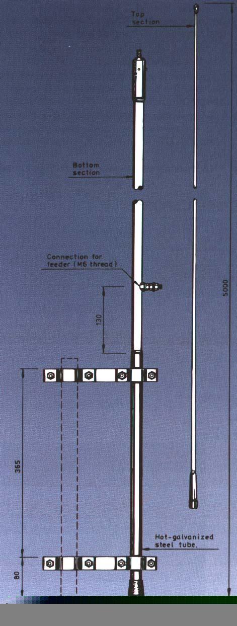 Pf Antenna Pf 5000 S Berkualitas hf 5000