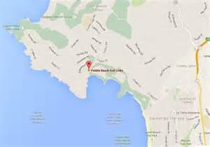 map of pebble california pebble pro am 2016 complete guide ilovecarmelca