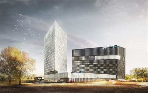 design contest opens for moscow riverside hotel competitive project of the radisson blu moscow riverside