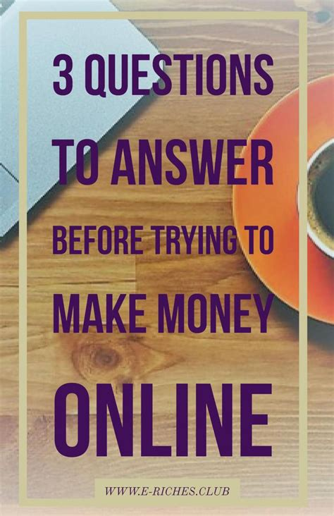 Make Money Online Answering Questions - 32 best e riches club images on pinterest business ideas calendar and girl boss