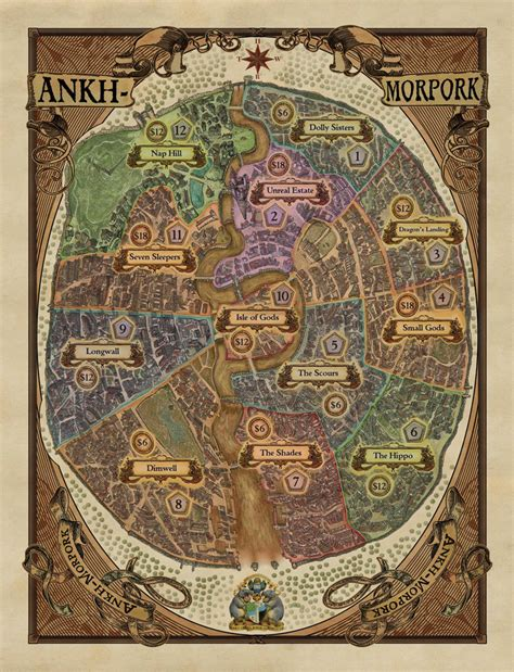 unseen london new edition 071123907x ankh morpork