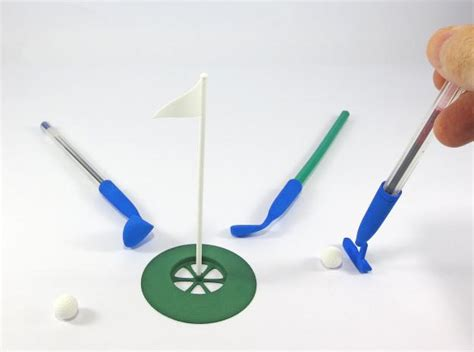 this addicting 3d printed desk golf will keep you