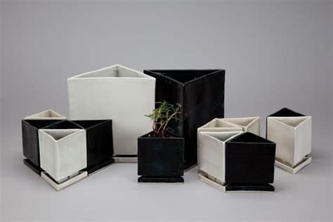 Triangular Planter by Ceramics Collection Chu