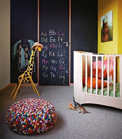 Tafelfarbe Kinderzimmer by Babyzimmer Deko Idee Tafelfarbe Kreide Zeichnen
