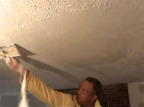 how to remove textured wall ceilings water damage