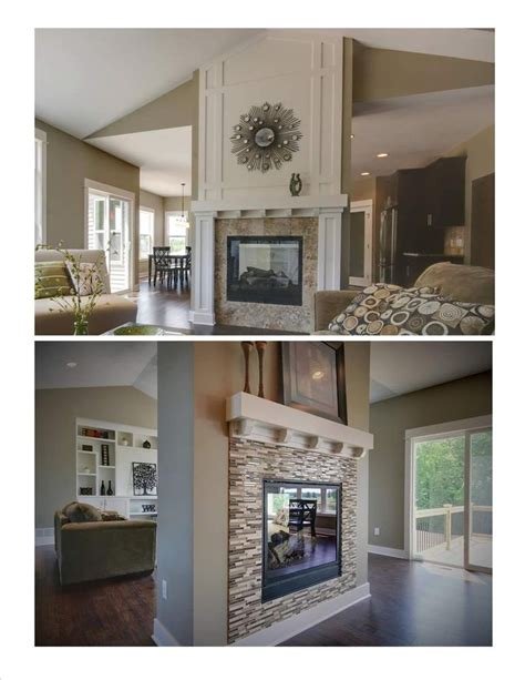 Sided Fireplace Design by 25 Best Ideas About Two Sided Fireplace On