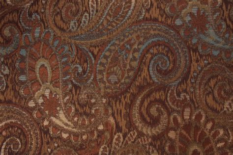 upholstery fabric tapestry robert allen tamil paisley tapestry upholstery fabric in jewel