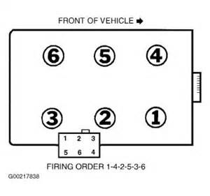 2001 Ford Escape Firing Order 2001 Ford Ranger Edge Fireing Dose It Match Up With The