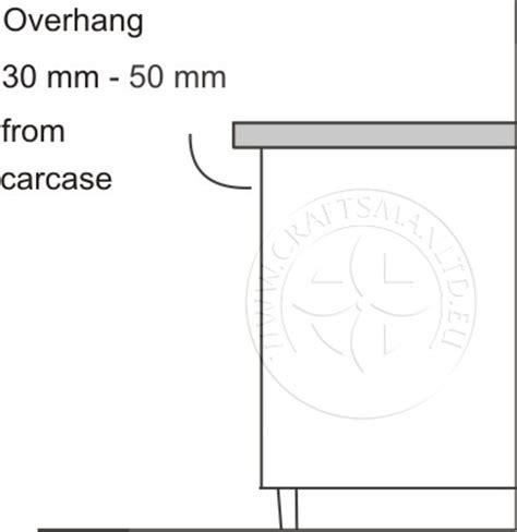 Granite Countertop Overhang Depth by Diy Fitting Granite Worktops For Kitchens Installing Granite Kitchen Worktops Do It Yourself
