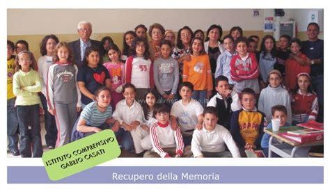 istituto casati recupero della memoria bambini delle classi iv e v