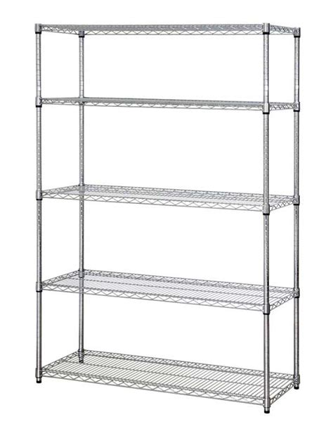 shelves stunning stainless steel shelves home depot
