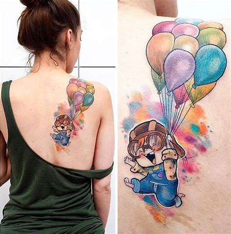 13 pixar inspired tattoo ideas bored panda