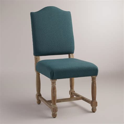 teal dining room chairs teal blue maddox chairs set of 2 world market