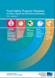 Food Safety Policy Template by Cft Qld Food Safety Courses