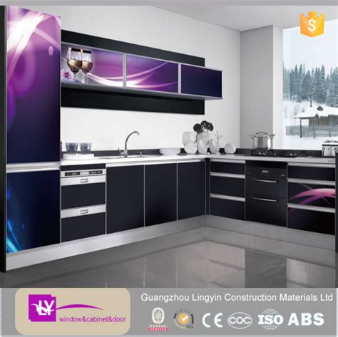 Newest Effects 3d Modern Kitchen Cabinets With High