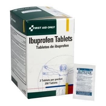 Maxprinol Tablet Per Box ibuprofen 250 tablets per dispenser box i431 made by aid only cpr savers and