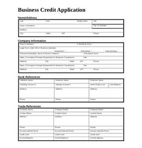 Account Application Form Template Word by 15 Credit Application Templates Free Sle Exle