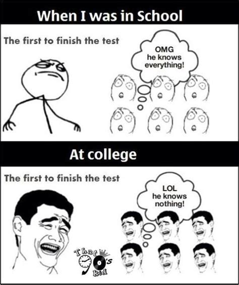 Memes Test - finishing exam early funny pictures quotes memes jokes