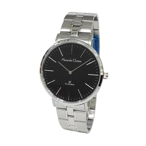 Jam Tangan Pria Silver Alexandre Christie Casio Guci Gc Ripcul harga jam tangan pria alexandre christie classic steel 8344mdlsssl analog silver pricenia
