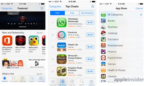 how to get apple appstore on android inside ios 7 apple s new app store simplifies app updating discovery iphone discussions on