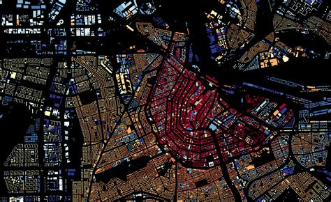 r city age visualizing building age in the netherlands mapbox