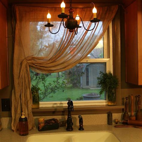 primitive decor curtains primitive curtains oh i love my home made cheese cloth curtains used my home made walnut