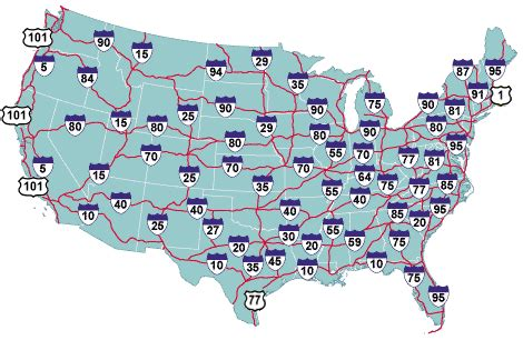 map us highways system if the us interstate system was instead a subway system